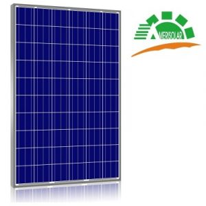 Amerisolar 285W polikristályos napelem panel, típusa: AS-6P30-285
